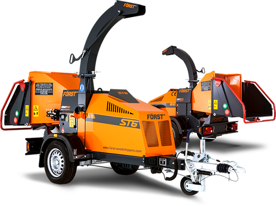 Wheeled Woodchippers